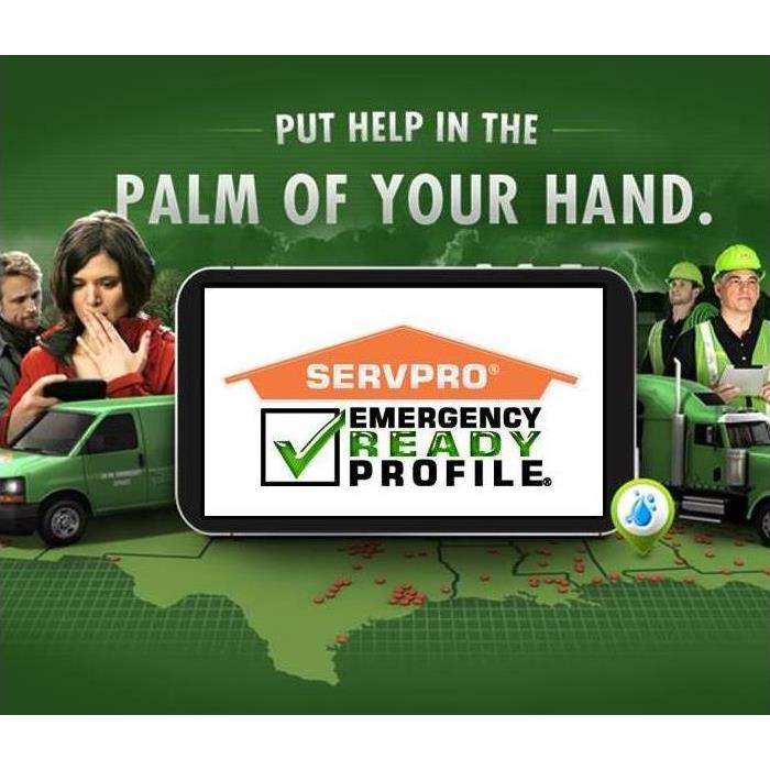 Emergency Ready Profile app on mobile phone